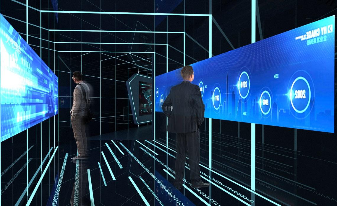 互动滑轨屏如何应用到展厅!!